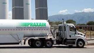 Praxair truck